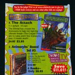 Animorphs 26 the attack book orders ad.jpg