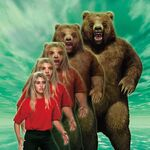 Animorphs 07 the stranger morph stock image rachel bear.jpg
