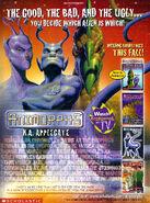 Nickelodeon magazine october 1999 ad good bad ugly 3 chronicles