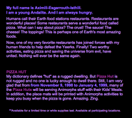 Scholastic web site fast food promotion