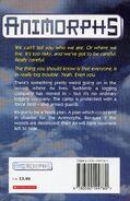 Animorphs 9 the secret UK back cover 1998 edition