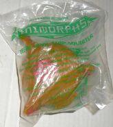 Yeerk pool ship squirter pizza hut toy in packaging