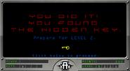 Hawk rescue Level 1 you found key prepare level 2