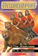 Animorphs weakness book 37 cover hi res