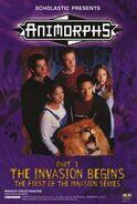 Animorphs TV retailer invasion series poster