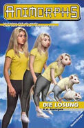 Animorphs 22 the solution german cover