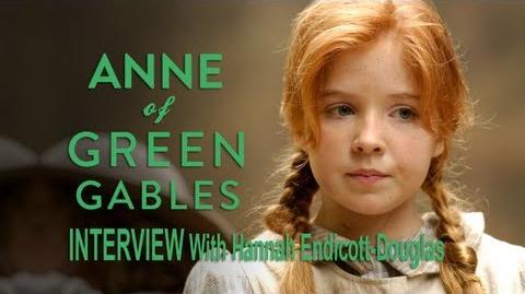 A New Beginning Interview - Hannah Endicott-Douglas as Anne Shirley