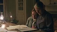 Anne und Marilla lesen