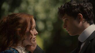 Gilbert berührt Anne