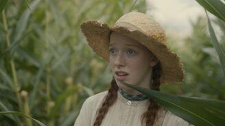 Anne während farmen