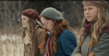 Ruby, Anne und Josie