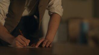Gilbert schreibt Anne