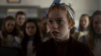 Anne trifft auf Gilbert mit kurzen Haaren