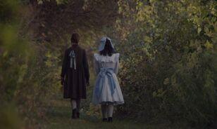 Anne und Diana im Wald