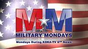 KDKA-TV News 6PM - Military Mondays - Mondays promo - Spring 2016