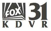 KDVR Fox 31 logo from 1991