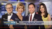 KLAS 8 News Now - WeatherNow 8 Team - Voted Most Accurate, 6 Years In A Row! promo - The Week Of January 25, 2021