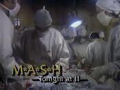 WNYW Fox Channel 5 - MASH - Tonight promo for November 15, 1986