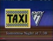 KNTV 11 - Taxi - Tomorrow Night promo - Fall 1983