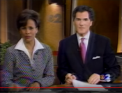 WCBS CBS 2 Information Network, Nightcast - Coming Up bumper - June 12, 2001