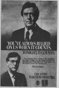 WTVT Pulse 13 & CBS News - Campaign '84, Election Night Coverage - Tonight promo for November 6, 1984