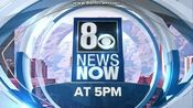 KLAS 8 News Now 5PM open - Early-Mid May 2016