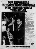 WABC Channel 7 Eyewitness News - Themselves promo - Fall 1984