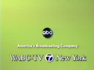 ABC Network ident with WABC-TV New York byline - Fall 2002