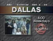 WKRN Channel 2 - Dallas - Weekdays promo-id - Fall 1984