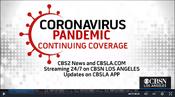 KCBS CBS2 News & CBSN Los Angeles - Coronavirus Pandemic - Continuing Coverage promo for Late Fall 2020