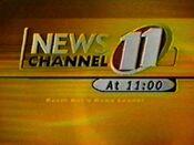 KNTV Newschannel 11 11PM open - 1998