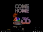 KTVV TV36 - Come Home To 36 - Nighttime ident from Fall 1986