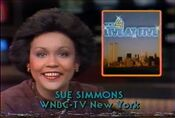 WNBC News 4 Live At 5PM - Monday ident for January 18, 1982