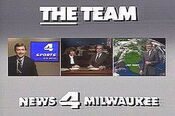 WTMJ-TV's News 4 Milwaukee's The Team Video Promo From 1986
