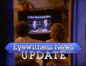 KDKA TV2 Eyewitness News Update - The Team That Brings It Home - Weeknights promo - Late 1987