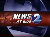 WKRN News 2 5PM open - Late January 2003