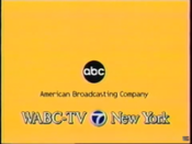 ABC Network ident with WABC-TV New York byline - Fall 1998