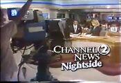 WKRN Channel 2 News Nightside Weekend open - April 14, 1990