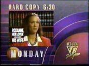 KNTV 11 - Hard Copy - Monday promo - Fall 1991