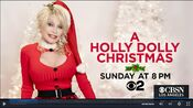 KCBS CBS2 - A Holly Dolly Christmas - Sunday promo for December 6, 2020