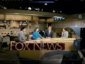 KTTV Fox News 10PM open - October 11, 1988