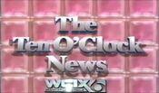 WCIX Channel 6 News, The 10PM News - Weeknights promo - 1985