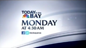 KNTV NBC Bay Area News Today In The Bay - Monday promo - Late January 2012
