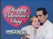 WCIX Channel 6 - Happy Valentine's Day ident 3 - February 14, 1986