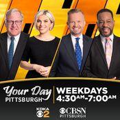 KDKA-TV & CBSN Pittsburgh - KDKA-TV News, Your Day Pittsburgh - Weekday Mornings promo - Mid-Late January 2021