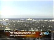 WFOR CBS4 News 6PM close - April 15, 2004
