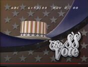 WKRN Channel 2 News, The '88 Vote Update open - November 8, 1988
