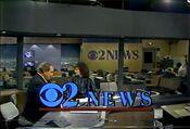 KCBS Channel 2 News, Sunday Night News 11PM open - February 10, 1985