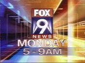 KMSP Fox 9 News, Fox 9 Morning News - Monday promo - September 2006
