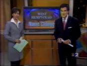 WCBS CBS 2 Information Network, Nightcast open - June 12, 2001